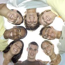 circle of students