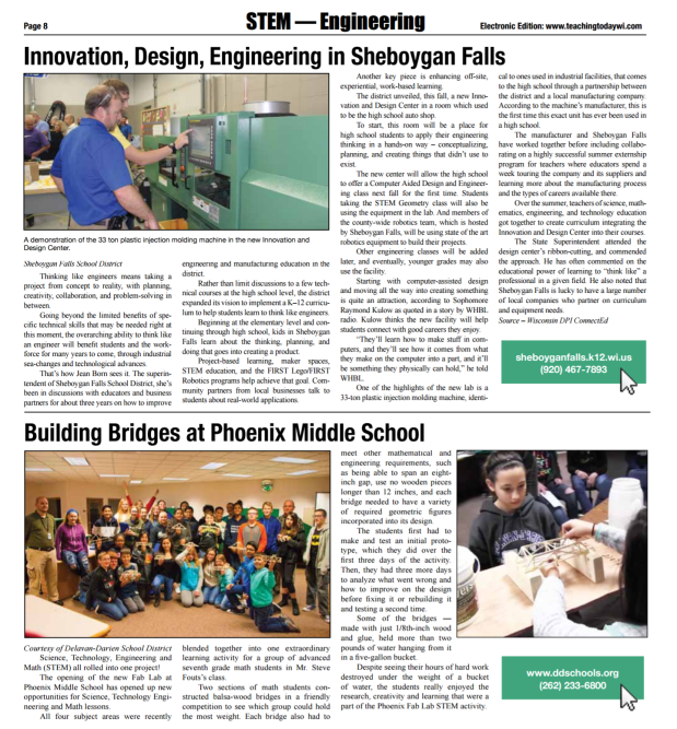 Building Bridges at Phoenix Middle School